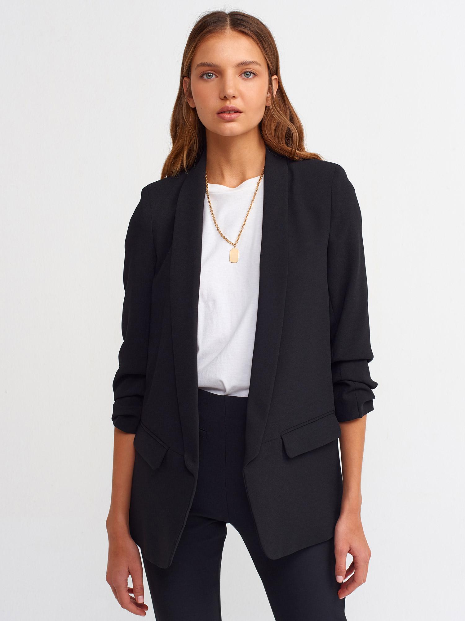 Bayan Siyah Ceket Kombinleri
